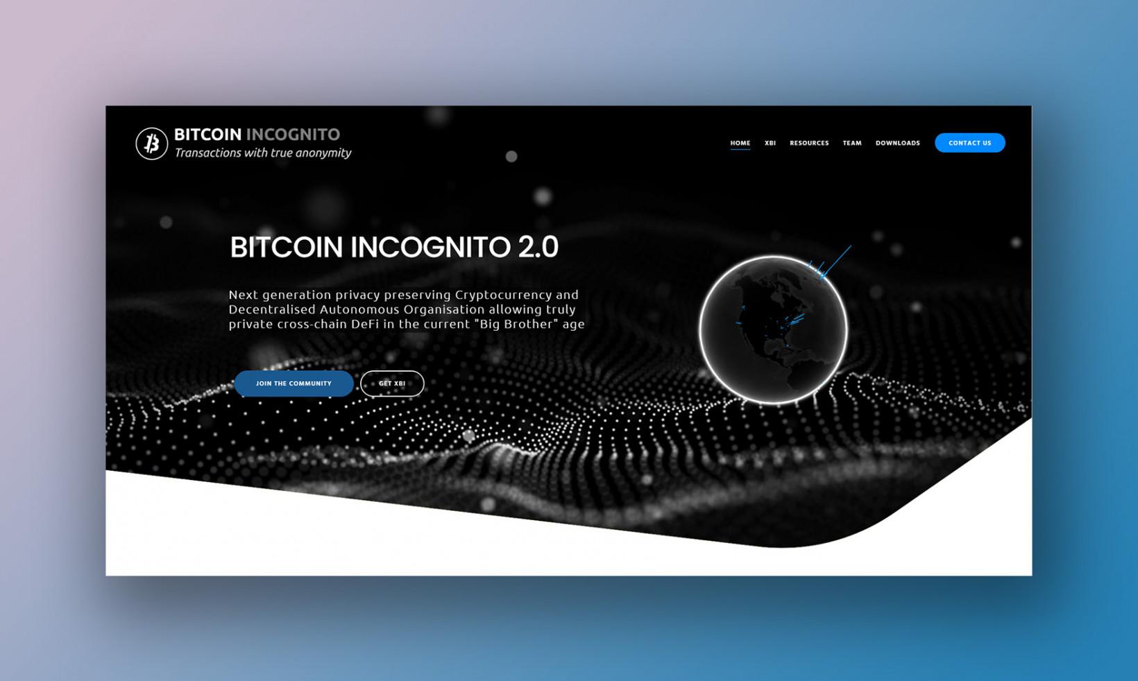 Bitcoin Incognito 2.0